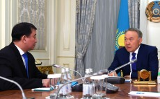 "Meeting with Gabit Baizhanov, Director of ""Syrbar"", Foreign Intelligence Service of Kazakhstan"