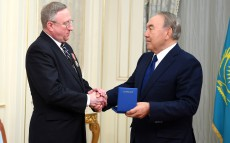 Meeting with George Krol,  United States Ambassador to Kazakhstan