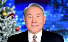 Congratulations of President Nursultan Nazarbayev on the New Year