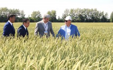 Visiting the agricultural complex of Zhuravlevka-1 LLP
