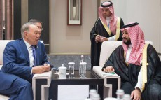 Meeting with Deputy Saudi Crown Prince Mohammad bin Salman at the G-20 Summit