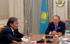 Meeting with public figure Olzhas Suleimenov
