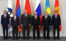 Participation in the meeting of the Supreme Eurasian Economic Council