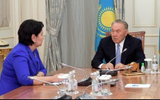 Meeting with the State Secretary Gulshara Abdykalikova