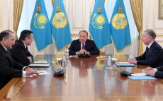 Meeting with Nurdinjon Ismoilov, Speaker of Legislative Chamber, Oliy Majlis of Uzbekistan