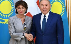 Meeting with Doris Leuthard, President of the Swiss Confederation